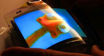 Samsung начнет выпуск гибких дисплеев позже.