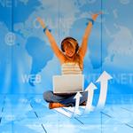 Увеличение посещаемости веб ресурса с помощью разных видов рекламы.