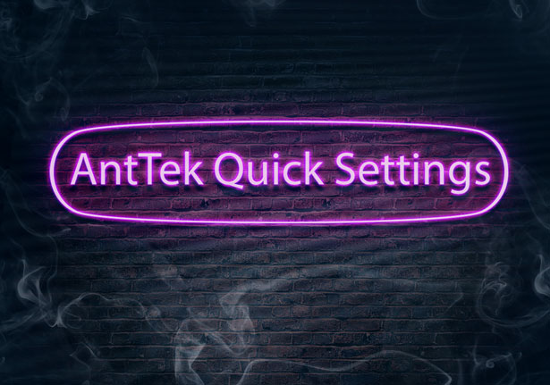 AntTek-Quick-Settings